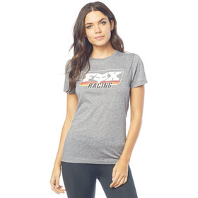 Fox Retro Fox SS Crew Tee Women heather graphite
